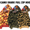 A BATHING APE® 1ST CAMO SHARK FULL ZIP HOODIE 7月8日(土)発売