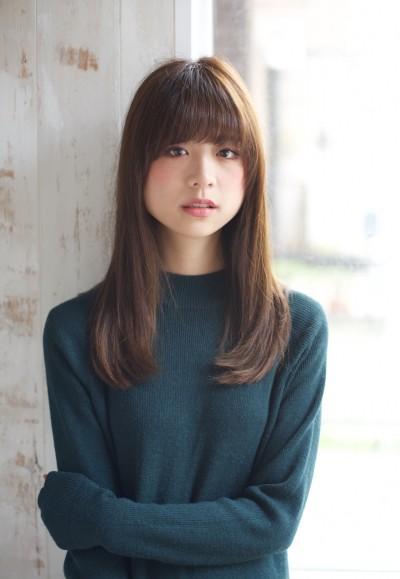 好感度No.1 ☆お手入れ簡単!!内巻きロング☆
